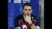 Цецо Соколов: Следващите мачове са най-вече за психика
