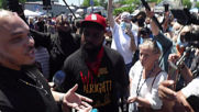 USA: Michael Brown's father joins protesters at George Floyd memorial in Minneapolis