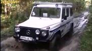 Офроуд машина - Mercedes G350