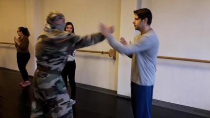 Защита от прави удари - курс самозащита #2 - майор Франц - док. видео - Проект Самозащита