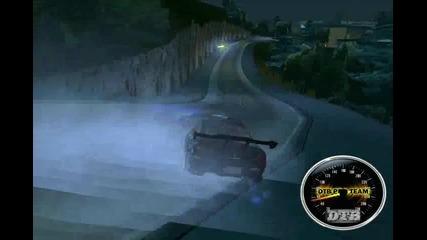 [dtb]melle Nissan Silvia s15 Very Nice Drifting ! :]