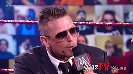 "The Miz & John Morrison welcome Maryse back on ""Miz TV"": Raw, April 12, 2021"