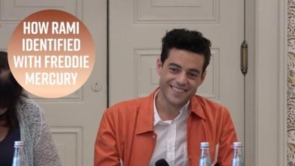 How Rami Malek related to Freddie Mercury as an immigrant