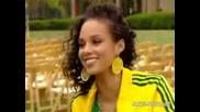Alicia Keys - Interview On The Nanny Set