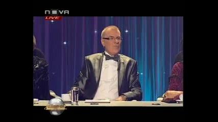 Bailando 12.19.2010 - Христо Калоферов и Росица Караджова
