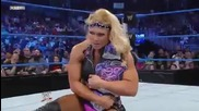 Smackdown 06/04/12 - Natalya vs Brie Bella/kelly Kelly