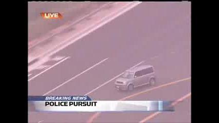 Полицаи гонят луда жена в Orange County