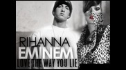 !бг превод!eminem ft. Rihanna - Love the way you lie [2] Високо Качество