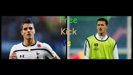 Free Kick Tonev & Lamela F I F A 14