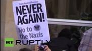 UK: Anti-fascists scuffle with police before Liverpool 'White Man March'