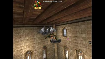 играта хари потър и затворникът от азкабан - изпълнение на урока драконафорс и ляпифора част 1