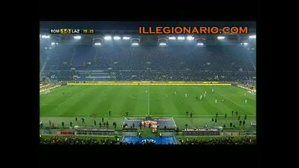Roma - Lazio 1 - 0 - Parata di Julio Sergio e gol di Cassetti