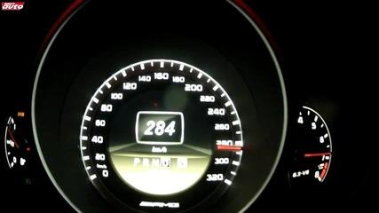 Mercedes C63 Amg Black Series 0-307 km/h