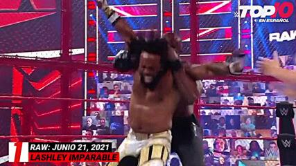 Top 10 Mejores Momentos de RAW: WWE Top 10, Jun 21, 2021
