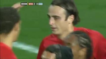 Berbatov & Ronaldo - Awesome Goal, Manutd vs Westham (hq)
