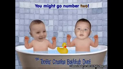 Tootin Bathtub Baby Cousins