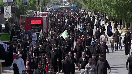 Iraq: Huge crowds attend Ashura commemoration in Karbala