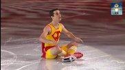 Javier Fernandez - Хавиер Фернандес. Фигурно пързаляне - гала вечер. Сочи 2014