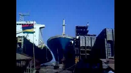Как Не се паркира кораб