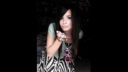 На коя снимка Деми е най - сладка?(2 игра)