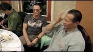 На вечеря в ресторант с звездите Жан - Клод Ван Дам и Боло Йънг