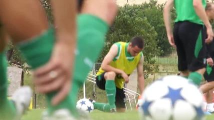 Берое тренира с настроение в Панагюрище, Жеков продължава да се възстановява