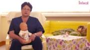 Как да накараме бебето да се оригне и така да го спасим от коликите