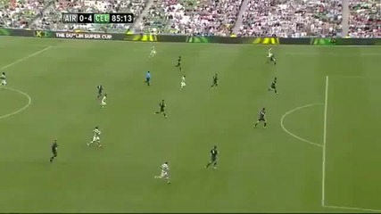 Ирландска Лига Xi 0-5 Селтик (всички голове)