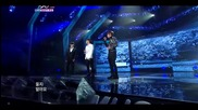 Wheesung & K.wll & Leehyun - Propose ` Special Stage ~ Music Bank (25.03.11)
