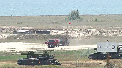Romania: Patriot missile system used in joint US-Romania drills on Black Sea shore