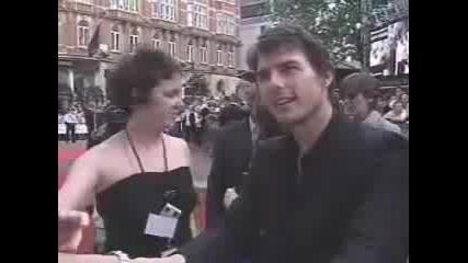 Tom Cruise Се Ядосва Заради Журналист
