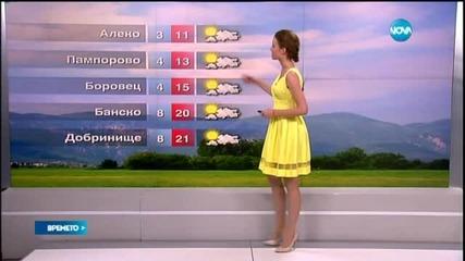 Прогноза за времето (13.05.2015 - обедна)