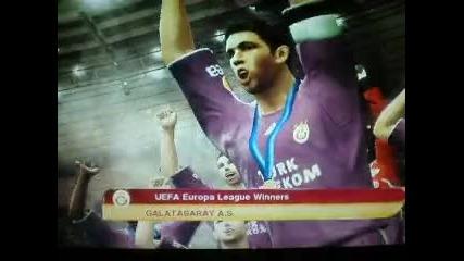 Galatasaray Uefa 2010 sampionu