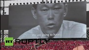 Сингапур: Огромно празненсто отбелязва 50 години на независимост в Сингапур