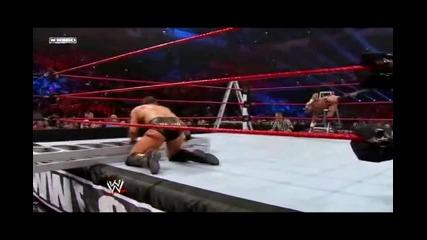 Си Ем Пънк срещу Миз срещу Алберто Дел Рио - [ Tables, Ladders, Chairs 2011 ] - Част 1