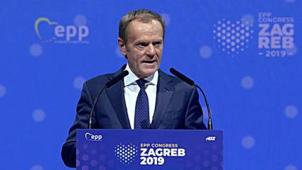 Croatia: Tusk to lead EPP, pledges to fight 'irresponsible populism'