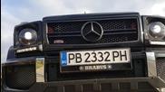Пловдив - Mercedes G-class Brabus