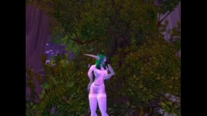 Night Elf Nude