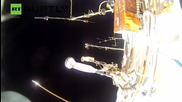 Here's What It Feels Like to Spacewalk Like an Astronaut - Via GoPro