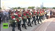 Russia: Hundreds attend WWII commemoration in Moscow