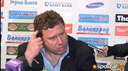Вуцов: Този красавец изпълни поръчка, проверете с кой играем в следващия мач!