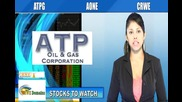 (crwe, Atpg, Aone) Crwenewswire Stocks to Watch