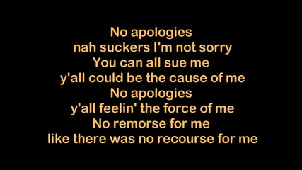 Eminem - No Apologies [hq & Lyrics]
