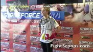Marloes Coenen - Strikeforce 2010 : Sparring Interview