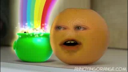 annoying orange - luck o the irish