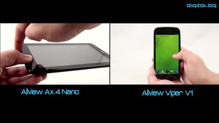 Евтин Фаблет - Allview Ax 4 Nano