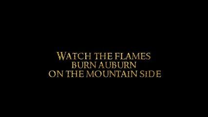 I See Fire - Ed Sheeran Lyrics (from The Hobbit- The Desolation of Smaug Soundtrack)