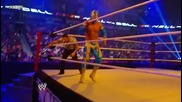 Sin Cara (i) - Over The Top Rope Somersault Senton