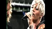 Pink - Please dont leave me (live@4music)