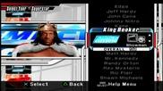Smackdown vs Raw 2008 - Изберете с кой да започна 24/7 Mode